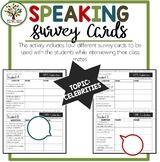 Speaking Activities ESL Surveys - Celebrities