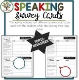 Speaking Activities ESL Surveys - Disasters