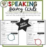 Speaking Activities ESL Surveys - Dreams