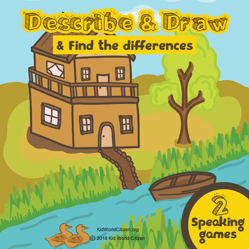 Speaking Activities for Any Language: Describe & Draw, Find the Differences