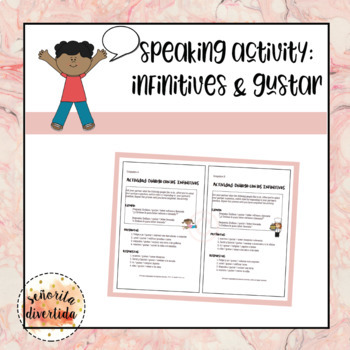 Speaking Activity: Infinitives