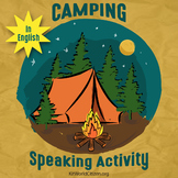 Speaking Activity: Let's Go Camping! ~ in English