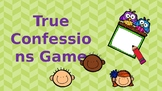 Back to School Icebreaker Game: True Confessions
