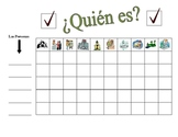 Spanish City Locations Speaking Activity (Large Group, Whole Class)