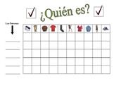 Spanish Clothing Speaking Activity (Large Group, Whole Class)