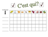 French Food and Drink Speaking Activity (Large Group, Whole Class)
