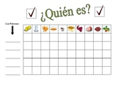 Spanish Food and Drink Speaking Activity (Large Group, Whole Class)