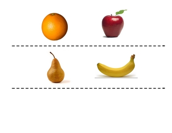 Spanish Fruit Speaking Activity (Large Group, Whole Class)