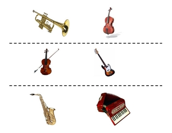 Spanish Musical Instruments Speaking Activity (Large Group, Whole Class)