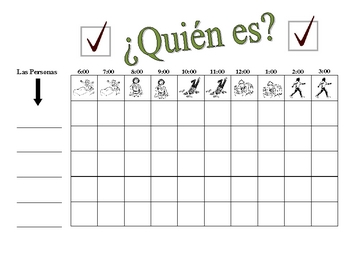 Spanish Reflexive Verbs Speaking Activity (Large Group, Whole Class)