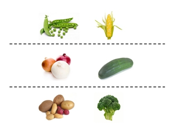 Spanish Vegetables Speaking Activity (Large Group, Whole Class)