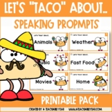 """Speaking Cards- Let's """"Taco"""" About..."""