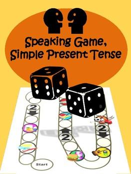 Speaking Game, Simple Present