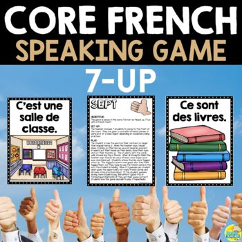 French Speaking Game for Middle School