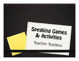 Speaking Games and Activities