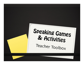 Speaking Games and Activities