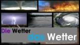 Speaking German: Wetter