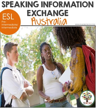 Speaking Information Exchange ESL Australia