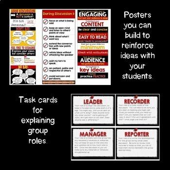 Speaking & Listening Activities, Strategies & Assessments