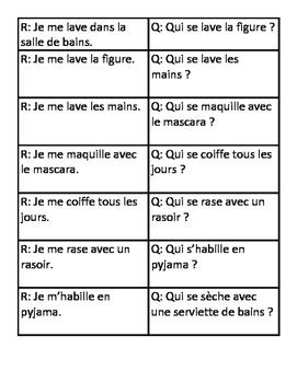 Speaking / Listening Chain La Routine Quotidienne