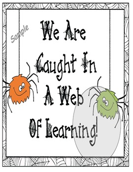 Speaking Of Spiders: Non-Fiction Reading & Writing Activities