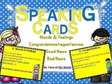 Speaking Practice Cards Pack 3 {ESL Speaking Game Cards -