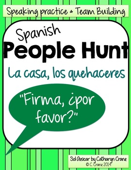Spanish People Hunt - La casa, los quehaceres - House, Chores