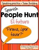 Spanish People Hunt - Future Tense Verbs - El futuro