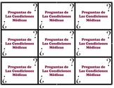 Speaking Questions Cards Realidades 2 (Medical / The News Vocab)