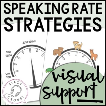 Speaking Rate Visual Support