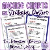 """ESL Speaking, Reading, Writing Strategies Posters 12"""" x 18"""