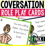 Speaking Role Play Cards ESL Pack 1 {Leaving a message}