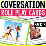Conversation Role Play Cards for ESL - Describing a Picture