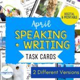 Speaking & Writing Cards for ELL Students {April}