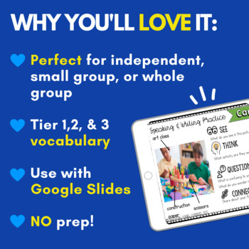 Speaking & Writing Cards for ELL Newcomers {Growing Bundle}