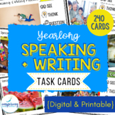 ESL Speaking and ESL Writing | ESL Task Cards
