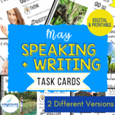 Speaking & Writing Cards for ELL Students {May}