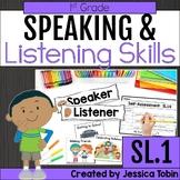 Speaking and Listening- 1st Grade Oral Language Skills