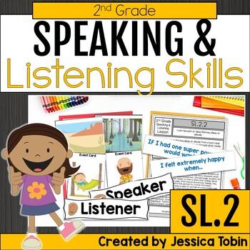 Speaking and Listening- 2nd Grade Oral Language Skills