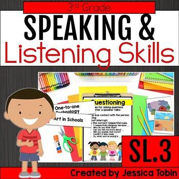 Speaking and Listening- 3rd Grade Oral Language Skills