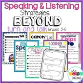 Speaking and Listening Activities: Beyond Turn and Talk Grades 3-5