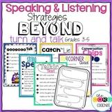Speaking and Listening Activities: Grade 3-5 Strategies Beyond Turn and Talk