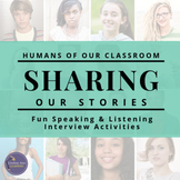 Speaking and Listening Activities for Google Drive | Humans of New York