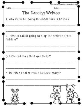 Speaking and Listening Assessments {1st grade Journeys}