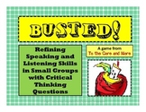 Common Core Aligned Speaking and Listening Skills Game - ON SALE 50% off