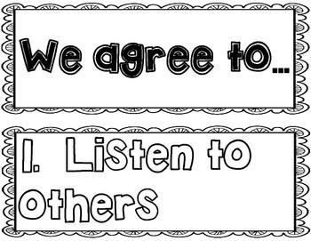 Speaking and Listening: Class Conversations SL.1.1 SL.1.2 SL.1.3
