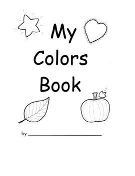 Colors and Color Words ELA PACK w Lesson PLANS! 28 pages W.K.8  SL.K. 1-6