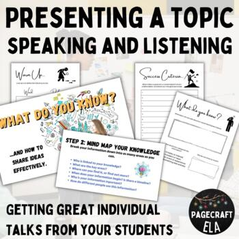 Speaking and Listening - Free Choice Talk
