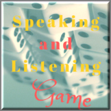 Speaking and Listening Game ESOL