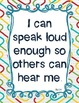 Speaking and Listening: I Can Posters for Each Standard (2